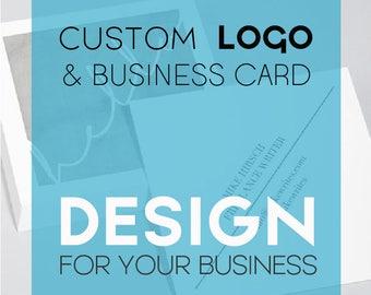 Custom Logo Design - Business Card - Professional Business