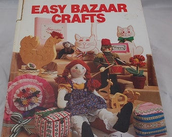 LAST CHANCE Sale - Better Homes and Gardens Easy Bazaar Crafts - Quick and Easy Crafts to Sell - Easy DIY Crafts