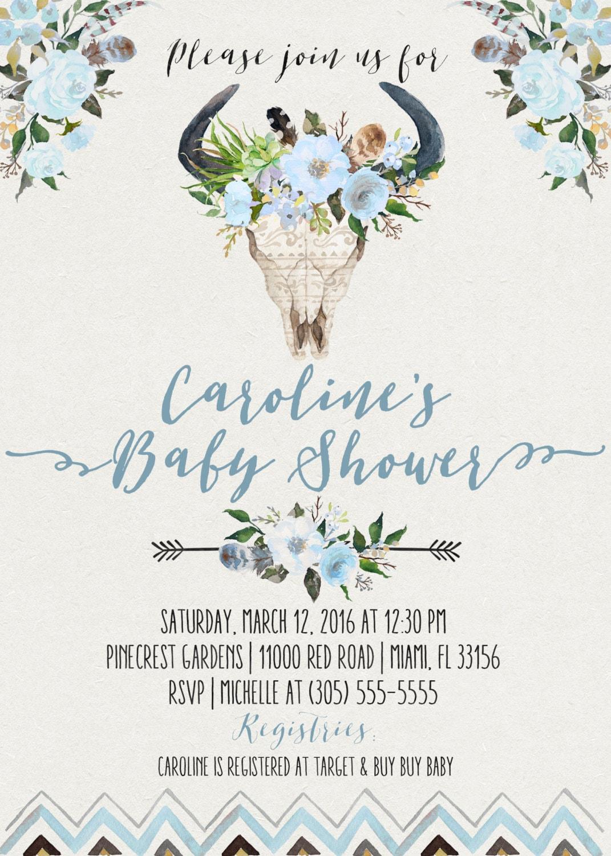 Boho baby shower invitation boy bohemian baby shower invite gallery photo gallery photo gallery photo filmwisefo