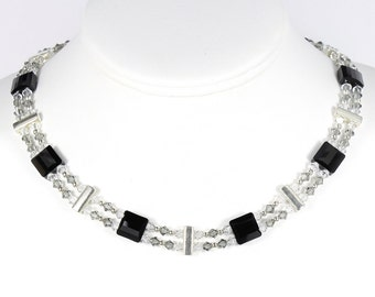 Hollywood glam necklace, Hollywood glam, glam necklace