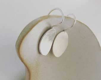 Big Pebble drop earrings