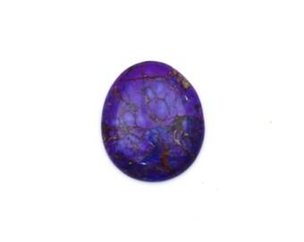 5 pieces Purple Mohave Turquoise Gemstone wholesale / Lot of 5 pcs / Purple Turquoise Cabochon / 142.95 cts