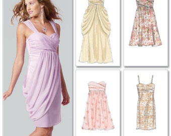 OUT of PRINT McCall's Pattern 6508 Misses' Lined Dresses