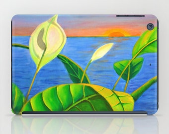 Calla Lily Sunset iPad Mini Cases