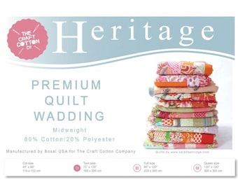 Heritage Premium Quilt Wadding