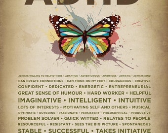 ADHD Poster Butterfly