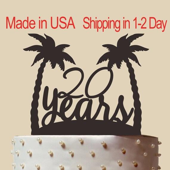 Birthday Cake Topper Brthday Gift Personalized Birthday Cake