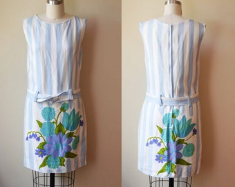 1960s floral shift dress // Betty Ashton // vintage dress