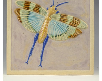 Flying Grasshopper Tile