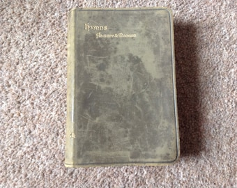 Hymns, Ancient and Modern. 1900s Hymn book.