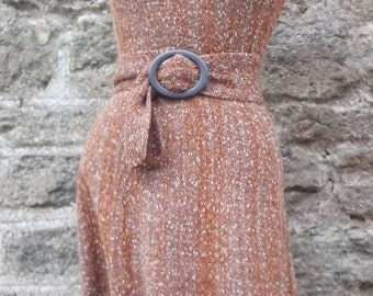 Hand Knit Wool Mix Dress
