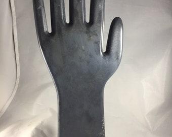 Vintage Ebonite glove mold, 1970s or earlier