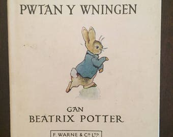 "Hanes Pwtany Y Wningen, Welsh-language edition of Beatrix Potter's ""The Tale of Peter Rabbit"""