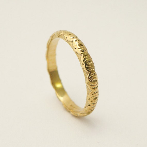 Simple Gold Weding Rings 017 - Simple Gold Weding Rings