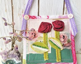 French Lavender Sachet - Scented Closet Sachet - Flower Sachet Ornament - Drawer Sachet - Gift For Women - Mothers Day Gift
