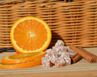 Orange Cinnamon Hard Candies All Natural