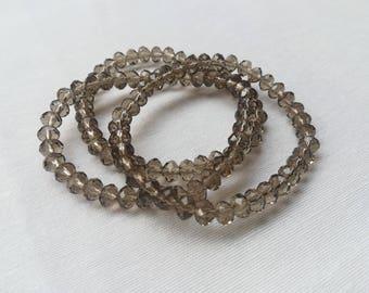 Brown faceted Bracelet
