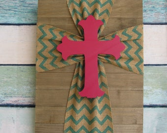 Chevron and Cross