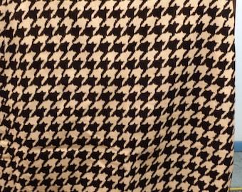 Vintage THE LIMITED Houndstooth Design Pencil Skirt - Ladies Size 2 - Back Slit