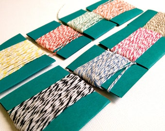 Bakers Twine- 5 yards, choose one color