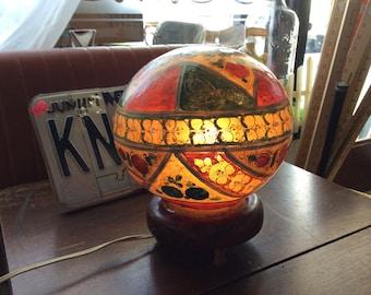 Rare Camel Bladder Lamp