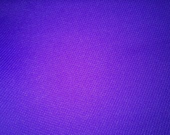 Fabric in bright purple polyester 210 x 152