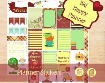 In The Garden Stickers | Big Happy Planner Stickers | Happy Planner Stickers | Create 365 Stickers | MAMBI