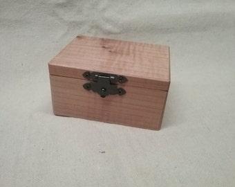 Maple Jewelry Box
