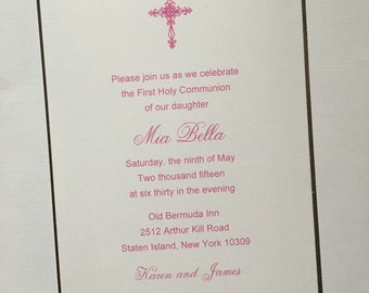 The Mia//Communion Invitation