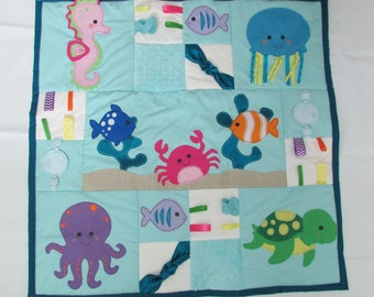 Under the Sea Tummy Time Mat