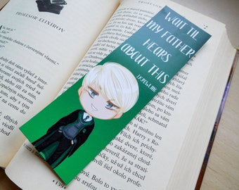 Draco Malfoy bookmark