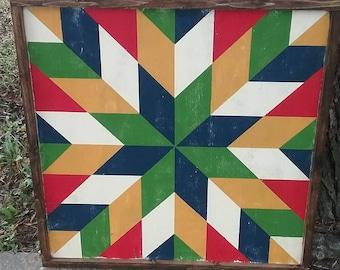 "24"" Custom, Hand-Painted Barn Quilt Blocks"
