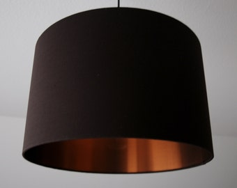 "Lampshade ""Brown-Copper"""