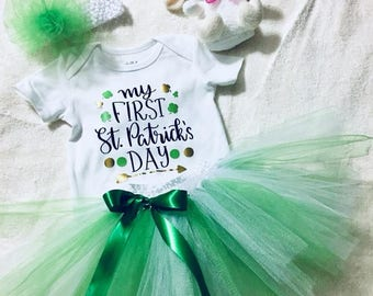 My First St. Patrick's Day outfit