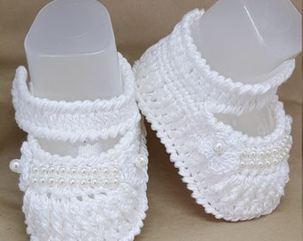 Nina Crochet Shoes
