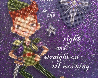 Brooke's Books 50% off PRE-SALE for All 14 .PDF Cross Stitch Character Charts for the Neverland Ornaments Collection