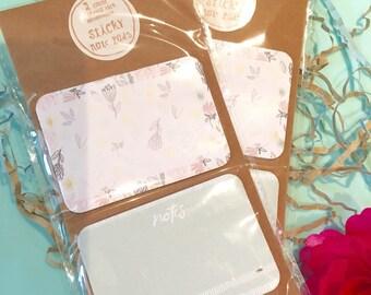 Sticky note pads pk