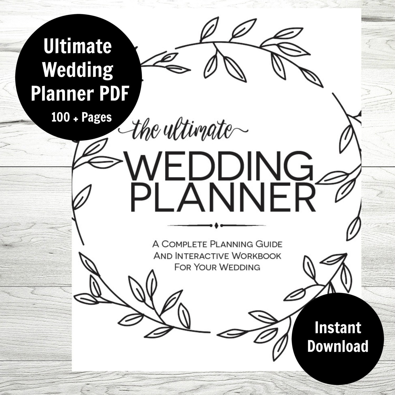 It is a graphic of Inventive Printable Wedding Organizer