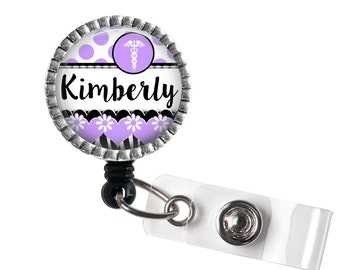 Name Badge Reel Holder, ID Badge Clip