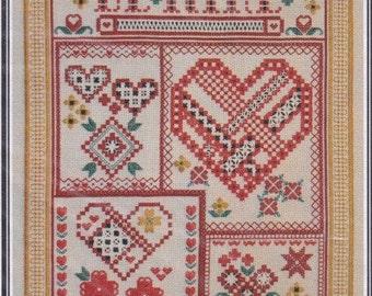 "Cross Stitch Pattern. ""Be Mine"". 1505."