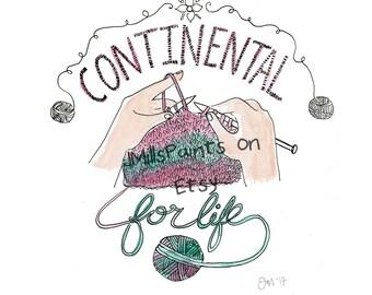 Continental Knitter