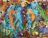 Seahorse Wall Decor, Ocea...