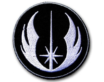 Star Wars Jedi Order Symbol Alliance Galactic Empire Patch Embroidered Iron on Emblem Badge Insignia Logo Movie Sew