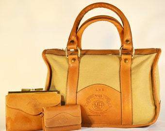 "Marley Hodgson Original Ghurka Bag #25, ""The Collector,""  ""Finest Handmade Leather Gear"""