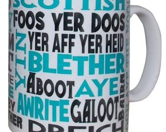 Scottish Dialect Mug