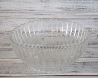 Vintage Bowl - Ribbed - Candy Dish - Condiment Dish