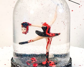 Headless Ballerina Snow Globe