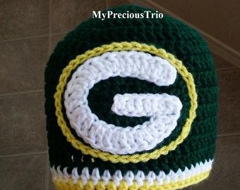 Green Bay Packers crochet Beanie
