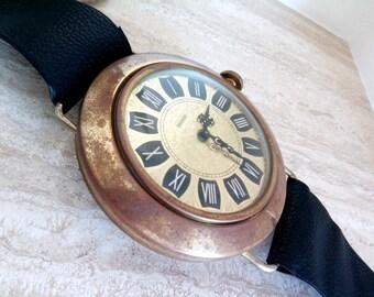 GERMAN MERCEDES WALL Clock, Vintage Made In Germany Mercedes Wall Clock, Mercedes Germany Wall Clock, Wall Clock, Vintage German Wall Clock