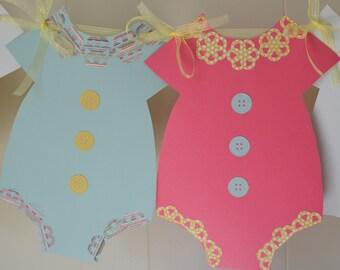 Baby Girl Shower Banner, Baby Shower Banner, Gender reveal banner, Girl Baby Shower